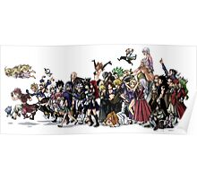 Fairy Tail Group Poster