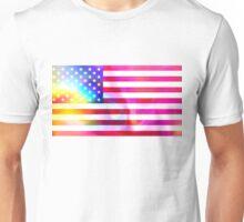 American flag Unisex T-Shirt