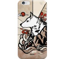 Wolf Ukiyo-e iPhone Case/Skin