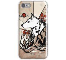Wolf Ukiyo-e iPhone Case/Skin