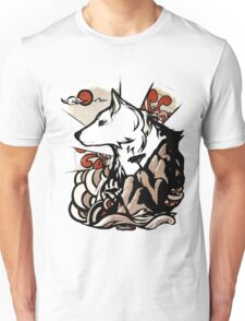 Wolf Ukiyo-e Unisex T-Shirt