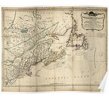 American Revolutionary War Era Maps 1750-1786 046 A general map of the middle British colonies in America 15 Poster
