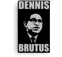 DENNIS BRUTUS-2 Canvas Print