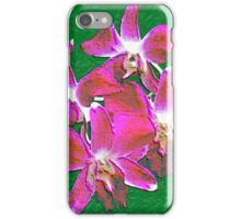 Artistic Orchid iPhone Case/Skin