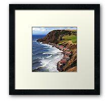 SCOTLAND CROVIE Framed Print