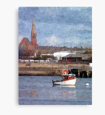 Barrow in Furness Canvas Print