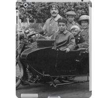 Motorcycle and Sidecarc1915 iPad Case/Skin