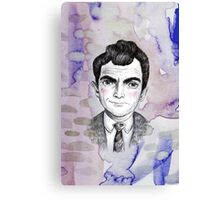 Sci-Fi boyfriend Rod Serling Canvas Print
