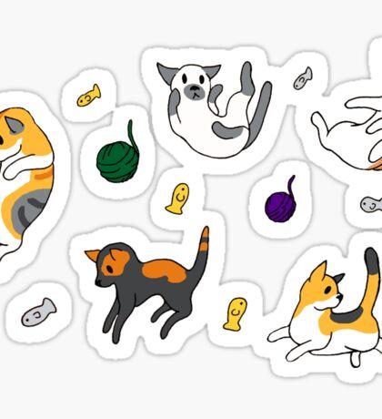 Neko Atsume Set 2 Sticker