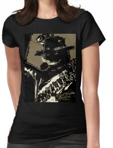 Rambler Tequila Bandit - Black Womens Fitted T-Shirt