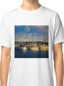 Newport Oregon - Sleeping Ships Classic T-Shirt