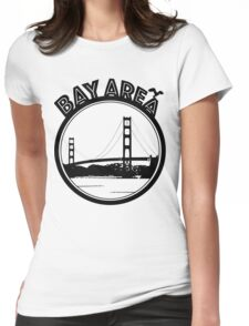 Bay Area  Womens Fitted T-Shirt