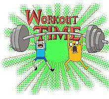Workout Time! Pimp those Biceps! Photographic Print