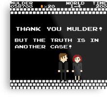 Thank You Mulder ! Metal Print