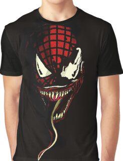 Venom  ft Spiderman  Graphic T-Shirt