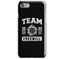 Team Freewill iPhone Case/Skin
