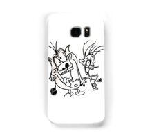 small ren and stimpy Samsung Galaxy Case/Skin