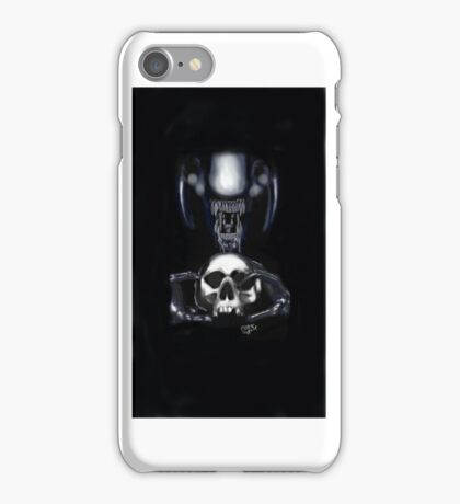 Xenomorph fire and stone iPhone Case/Skin