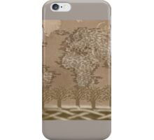 Geni one world forest iPhone Case/Skin