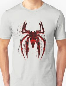 Dark Red Abstract Spider Unisex T-Shirt