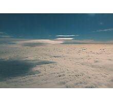 cloudcarpet - two  Photographic Print