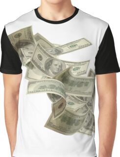 Flying Cash Graphic T-Shirt