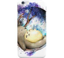 totoro sleeping iPhone Case/Skin