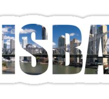 Brisbane Sticker