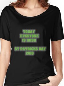 St Patricks day 2016 White Women's Relaxed Fit T-Shirt