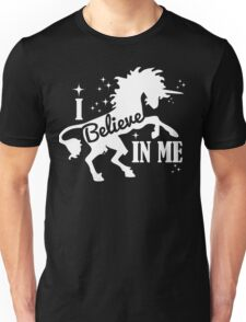 Believe - White Unisex T-Shirt