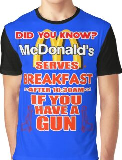 McDonald's Breakfast Graphic T-Shirt