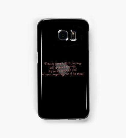 Out of his Mind Samsung Galaxy Case/Skin