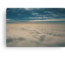 cloudcarpet - three Canvas Print