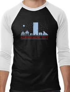 Achievement city  Funny Men's Tshirt Men's Baseball ¾ T-Shirt