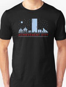 Achievement city  Funny Men's Tshirt T-Shirt