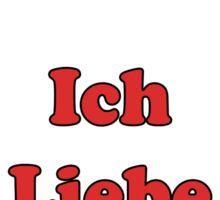 Ich Liebe Musik - Schlager T-Shirt Bettdecke Kleber German Music Sticker