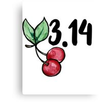 Cherry Pi Day  Canvas Print