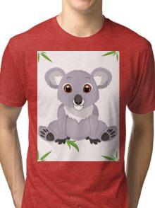 Cute Little Koala Bear Tri-blend T-Shirt