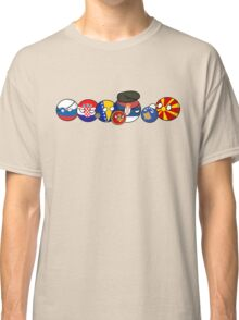 Polandball - Yugoslavia family portrait Classic T-Shirt
