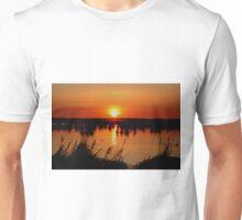 Sunrise over Oak Hammock Marsh Unisex T-Shirt