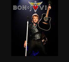 jon bon jovi with guitar Unisex T-Shirt