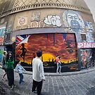 Hosier Lane Abstract by Pauline Tims