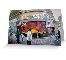 Hosier Lane Abstract Greeting Card