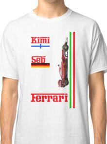 Ferrari 2016: Vettel, Raikkonen Classic T-Shirt