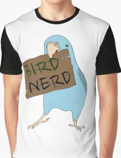 Bird Nerd Graphic T-Shirt