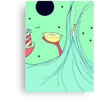 Lemon Voyage Canvas Print