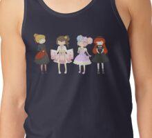 Lolita Fashion girls Tank Top