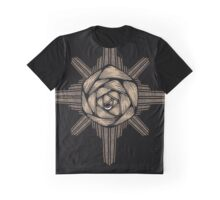 Rose-N-Star Graphic T-Shirt