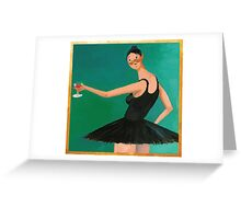 My Beautiful Dark Twisted Fantasy (Ballerina) Greeting Card