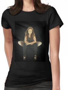 """Olivia Wilde """"Chair"""" Womens Fitted T-Shirt"""